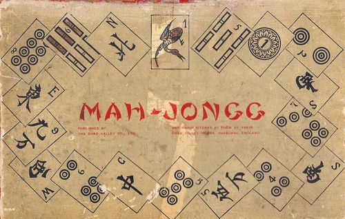 Good mahjongg set box cover